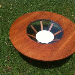 Brasilia Coffee Table with Planter